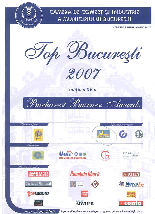 Anul 2007 – CCI – Bucuresti