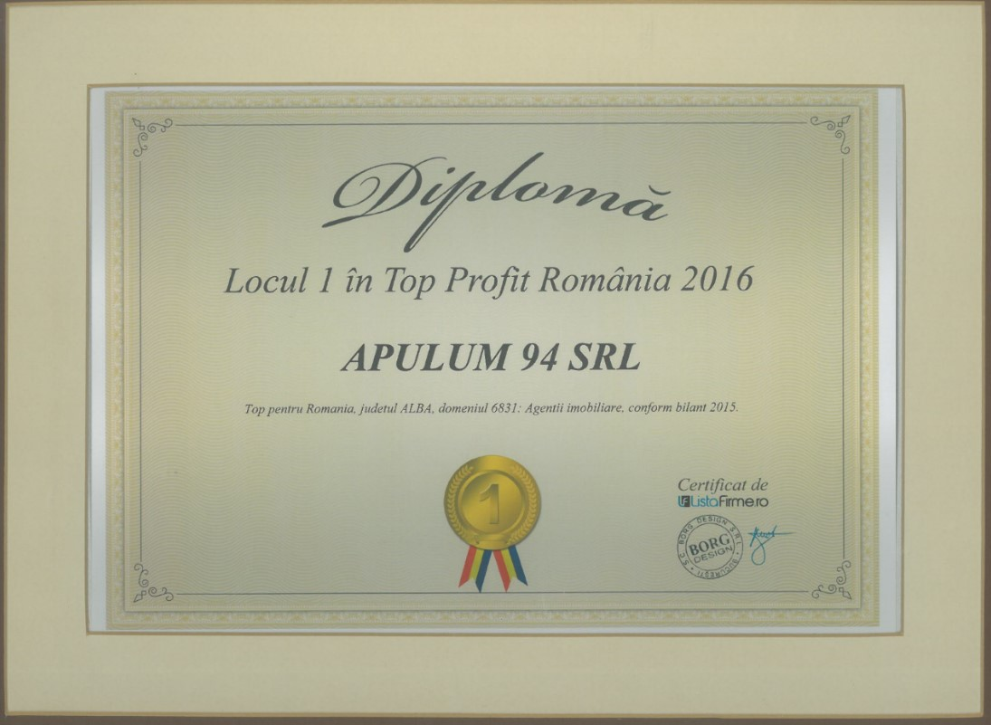 Top Profit Romania – 2016